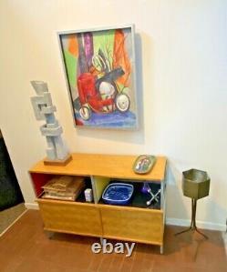 13 Pillin Vtg Mid Century Modern California Bowl Tray Studio Art Pottery Vessel