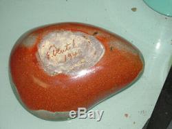 1949 Eugene Deutch Vintage Mid Century Modern Studio Art Pottery Bowl