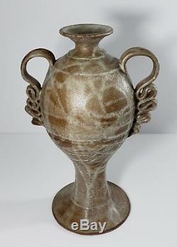 Al Tennant Seattle Pottery Northwest Studio Vtg 72 Vase Archie Bray Interest