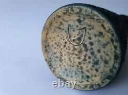 Albert Kiessling ceramic snake skin vase vintage mid-century East Germany MCM