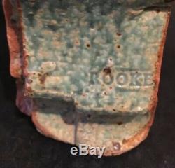 Bernard Rooke Vintage Mid Century Modern Brutalist Studio Pottery Vase
