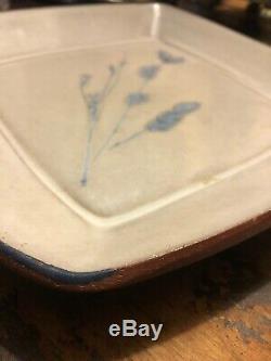Denis Vibert Vintage Pottery Pine Tree Kiln Maine Art Studio