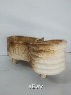 EXCEPTIONAL Vintage Japanese Studio Pottery Bonsai Ichiban Planter suiban MARK