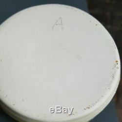 Early Carn Studio Pottery Vase Blue Spot Troika Era Vintage retro mint condition