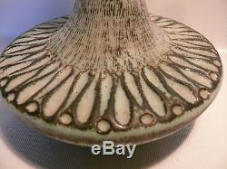 Ellis Sgraffito Decorative MID Century Jug 14 Vintage Australian Studio Pottery