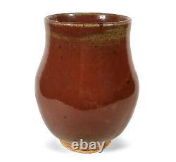 Fine Vintage San Francisco California Studio Art Pottery Vase Karl Rhode-hamel