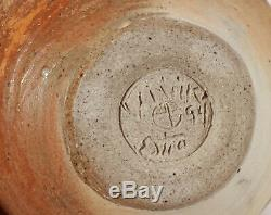 Fine Vintage Vivika Otto Heino Studio Art Pottery Moon Pot Weed Vase California