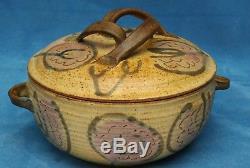 Frances Senska Vintage Montana Studio Pottery Bowl with Lid
