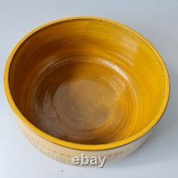 Goran Andersson Upsala Ekeby ceramic bowl Stripa vintage MCM Swedish Göran