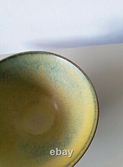 Gunnar Nylund Rorstrand ceramic bowl Swedish Mid-century MCM vintage Rörstrand