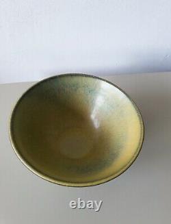 Gunnar Nylund Rostrand ceramic bowl Swedish art Mid-century MCM vintage Sweden
