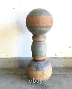 Huge 31 Mid Century Vintage California Studio Art Pottery Statement Sculpture