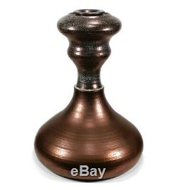 Huge Vintage Bernard Ben Kypridakis California Studio Art Pottery Luster Vase