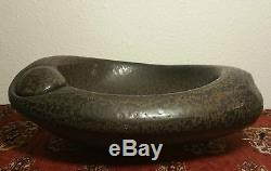 IKEBANA reid ozaki vtg studio art pottery bowl vase japanese seattle sculpture
