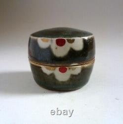 JOHN MALTBY Vintage Small Stoneware BOX. Studio Ceramics