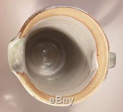 Karen Karnes, Jug, Vase, Vintage Studio Pottery, KK Mark, 17.8cm