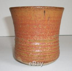 Karen Karnes Vintage Vermont New York Studio Pottery Rare Yuonomi-Chawan MCM