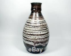 Large Vintage Thomas Tommy Kakinuma TK Canadian Pottery Studio Art Pottery Vase