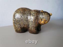 Lisa Larson bear Gustavsberg original vintage ceramic Swedish Mid-century MCM