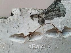 Lisa Larson rare bird wall plaque vintage Swedish mid-century art Gustavsberg