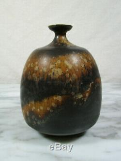 MCM Vintage German Studio Pottery Fat Lava Era Signed WH Willi Hornberger