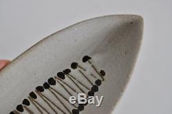Martz Vtg Mid Century Modern Ceramic Studio Pottery Dish Vase Bowl California