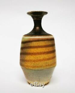 Mary Rich studio pottery porcelain miniature vase vintage pre-gold