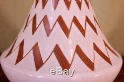 Mid Century Danish Michael Andersen Pottery Lamp Base Retro 1960s Scandi Vintage