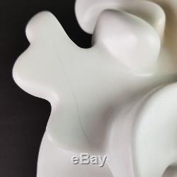 Mid Century Hanukiah Menorah Ceramic Modernist Studio Pottery Vtg Brutalist 10in
