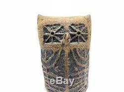 Mid Century Louis Mendez Studio Pottery Owl Vintage Stoneware