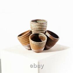 Mid Century Modern Planter Ceramic Studio Pottery Round Vintage Signed SM Mcm NM