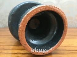Mid Century Modernist Vintage Studio Pottery Vase 1970s, Brooker