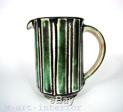 Monika Maetzel Studio Keramik Krug Milchkrug Jug German Pottery 60´s vintage
