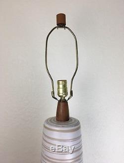 Monumental Giant Vintage Martz Lamp Marshall Studios Ceramic Mid Century Modern
