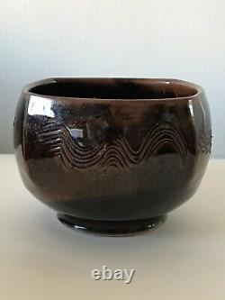 Neil Moss Modern California Studio Pottery 1970 Vintage Ceramic Cressey Natzler