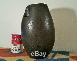 OZAKI reid vtg studio art pottery vase japanese seattle table madern sculpture