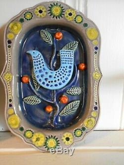 PAIR John F French, Arklow Studio Pottery, Wall Hangings VINTAGE PERFECT