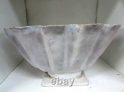 Peg Lowe Australian Pottery Vase Bowl Hand Built Studio Art Vintage Signed