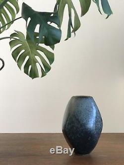 ROBERT MAXWELL VTG Early Studio Pottery California Modern Handmade Ceramic Art