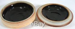 Randy Johnston Vintage Studio Pottery Covered Bowl Wood Fired Warren McKenzie