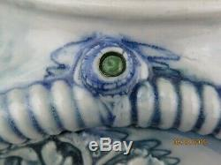 Rare VINTAGE DAVID KEYES FUNK STUDIO TACOMA MODERN ART POTTERY SEA EYES TEAPOT