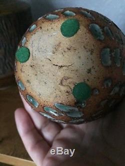 Rare Vintage David Stewart Studio Pottery Bird Mid Century Ceramic Art Vase