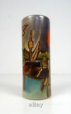 Rare Vintage Italian Valbuna Studio Pottery MID Century Ceramic Vase 60s