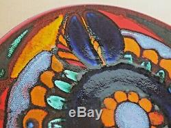 Rare Vintage Large Delphis Studio Art Poole Charger/Plate/Dish by Angela Wyburgh