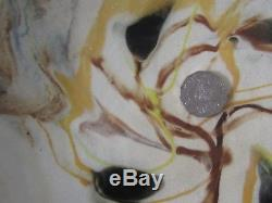Rare Vintage PHYLLIS GARRETT Sydney NSW Australian STUDIO Pottery PLATTER Sayers