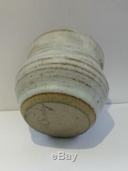 Robert David BRADY Signed Vintage Original Stoneware Studio Pottery 1977