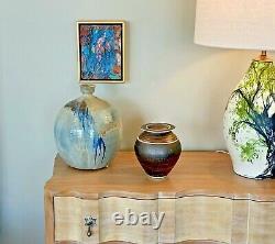 Robert Fritz Vtg Mid Century Modern California Studio Pottery Bowl Vase Vessel