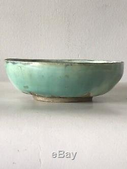 Ron Arbaugh Pottery Studio Bowl -signed 1958- Vintage MID Century Modern Ceramic