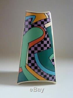 Rosenthal Germany Vintage FLASH 24cm VASE. Dorothy Hafner 1980's Studio-Line