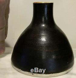 STEPHEN POLCHERT studio art pottery vintage 1961 MCM small VASE Nebraska
